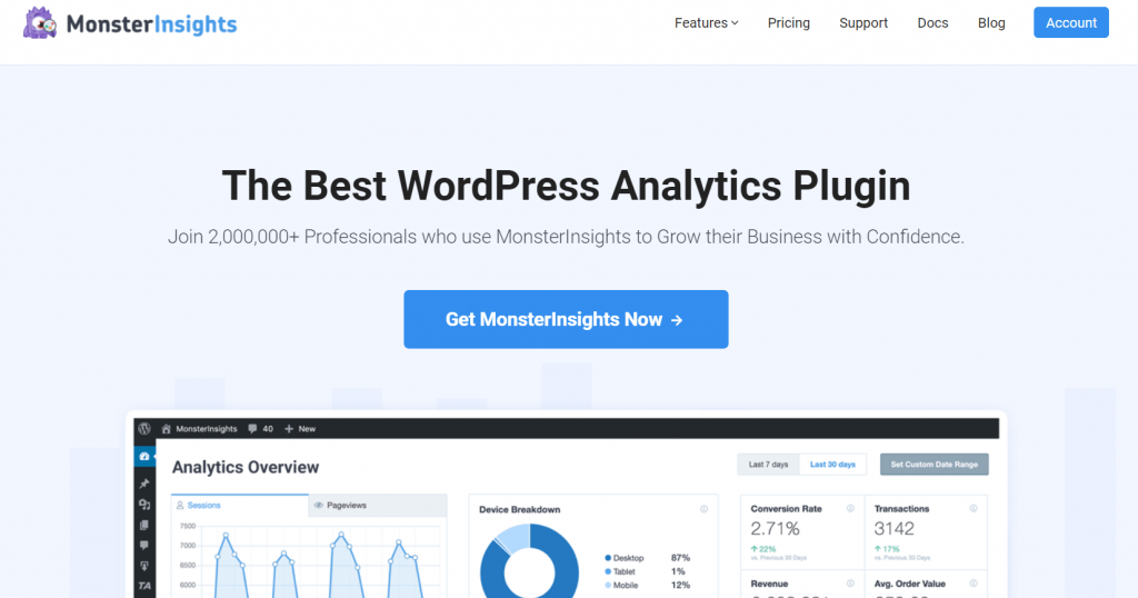Tracciare la fonte di acquisizione del Lead in Google Analytics via MonsterInsights
