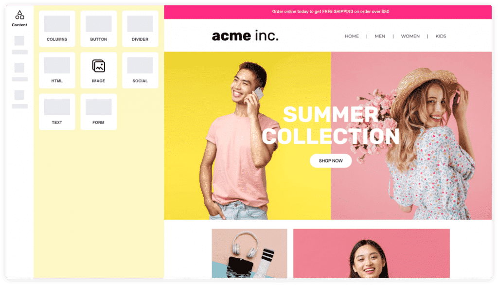 Landing Page Mailmunch