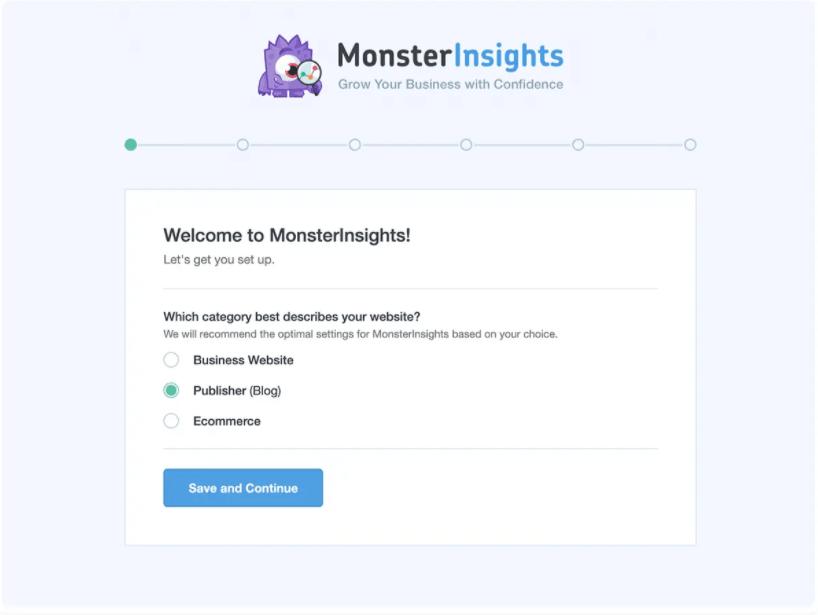 MonsterInsights installazione e configurazione plugin