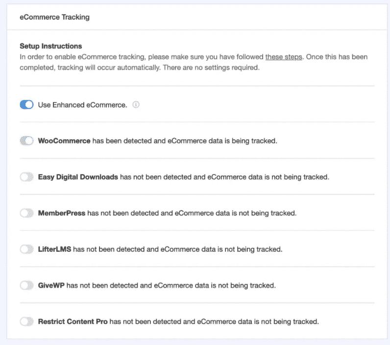 Nuove integrazioni per il monitoraggio dell'eCommerce