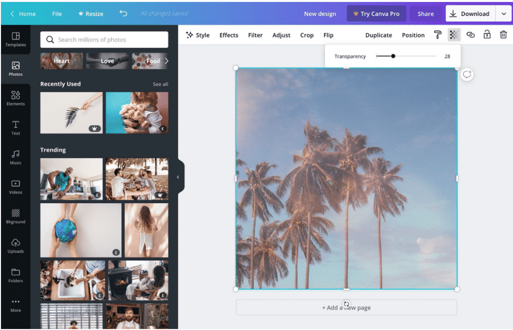 Canva Pro Transparent Images
