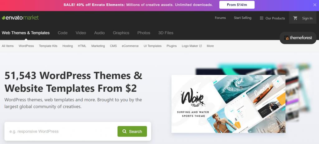 Theme Forest Temi e Plugin WordPress