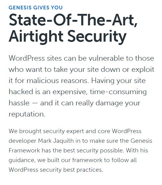Genesis Framework State of the Art – Airtight Security