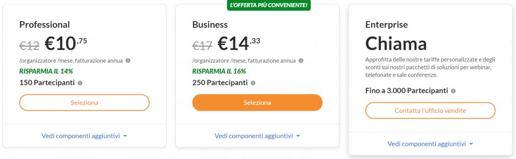GoToMeeting prezzi