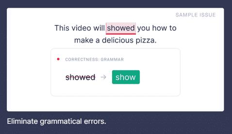 Grammarly Grammatica e punteggiatura