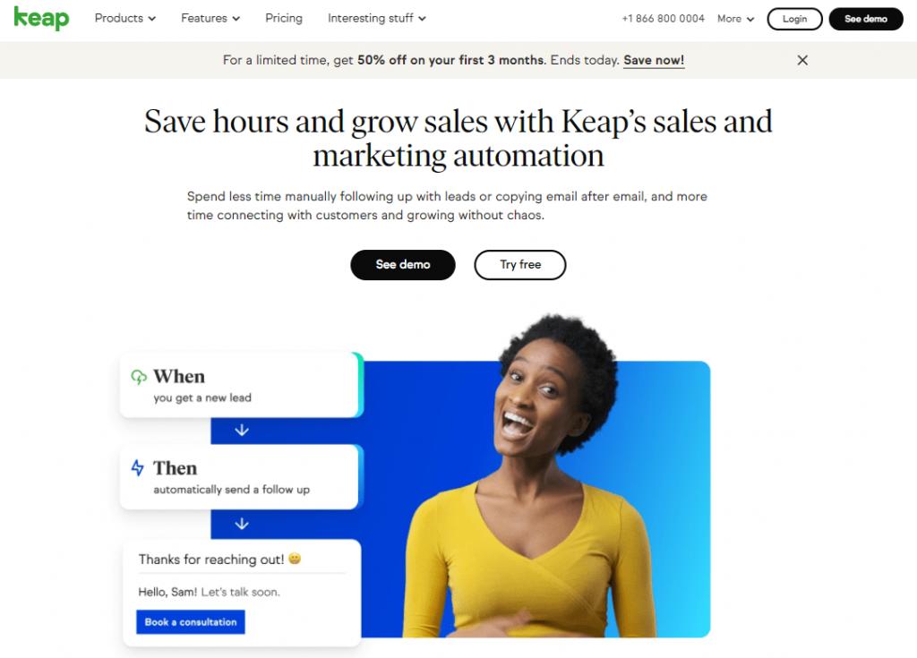 Keap Sales & Marketing Automation