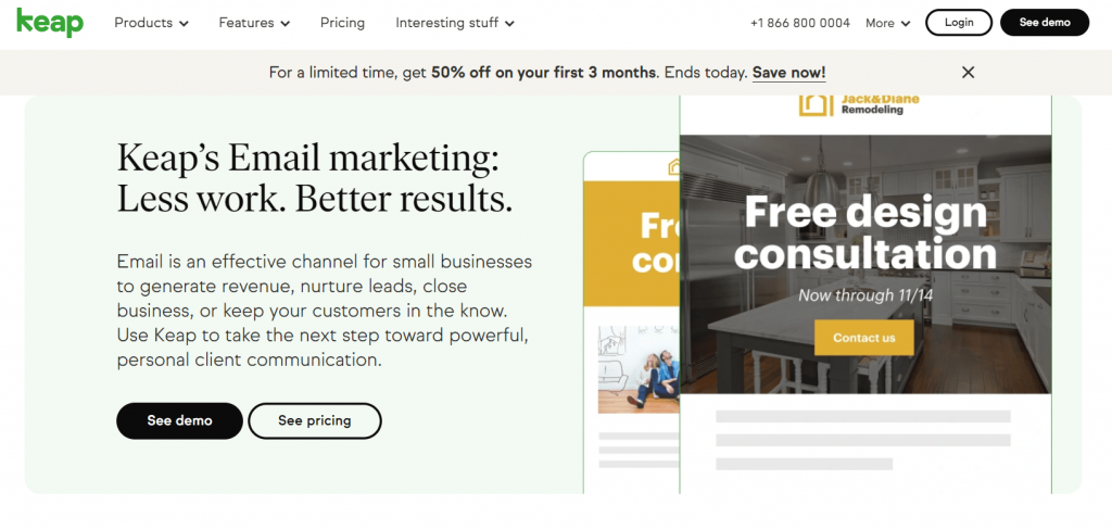 Keap Email Marketing