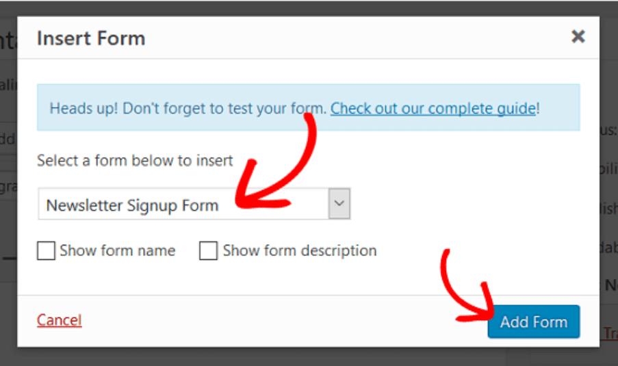 Come Collegare WPForms a Mail Chimp in WordPress Aggiungi il modulo di iscrizione a Mailchimp al tuo sito