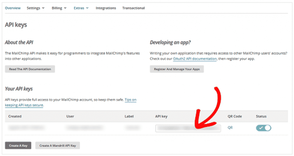 Come Collegare WPForms a Mail Chimp in WordPress Collega il tuo modulo a Mailchimp