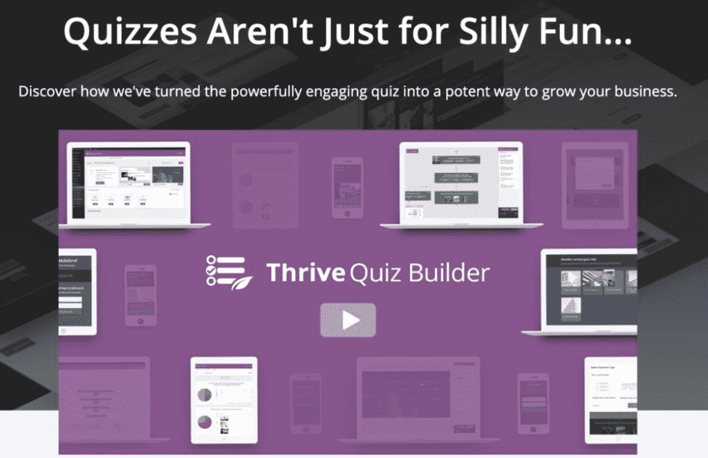 Thrive Themes Thrive Quiz Builder