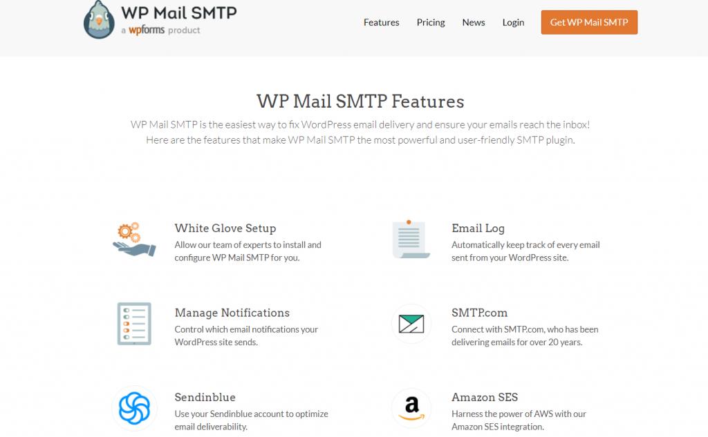 WP Mail SMTP Funzionalità